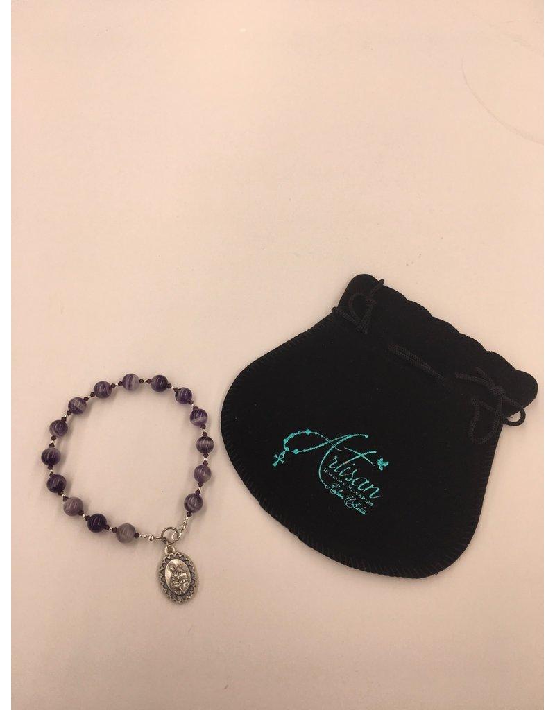 Artisan Jewelry Rosaries Saint Andrew Christmas Novena Chaplet