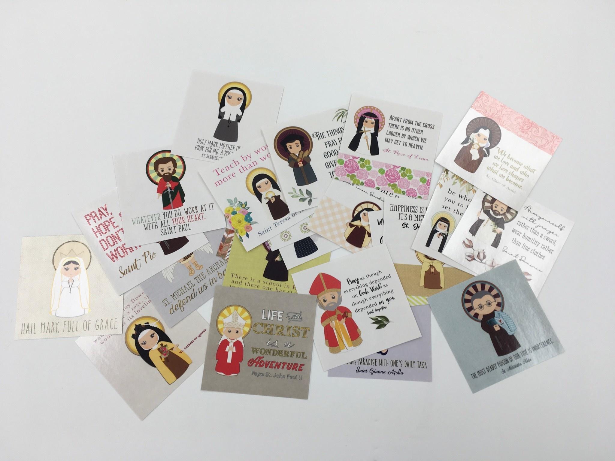Saint Sticker