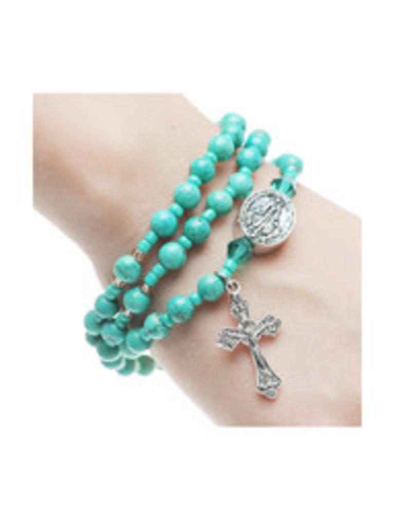 McVan 6mm Twistable Rosary Bracelet