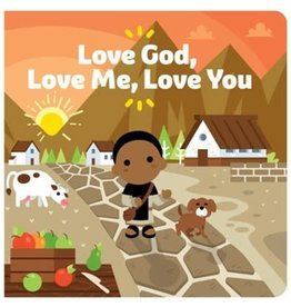 Tiny Saints Love God, Love Me, Love You Board Book