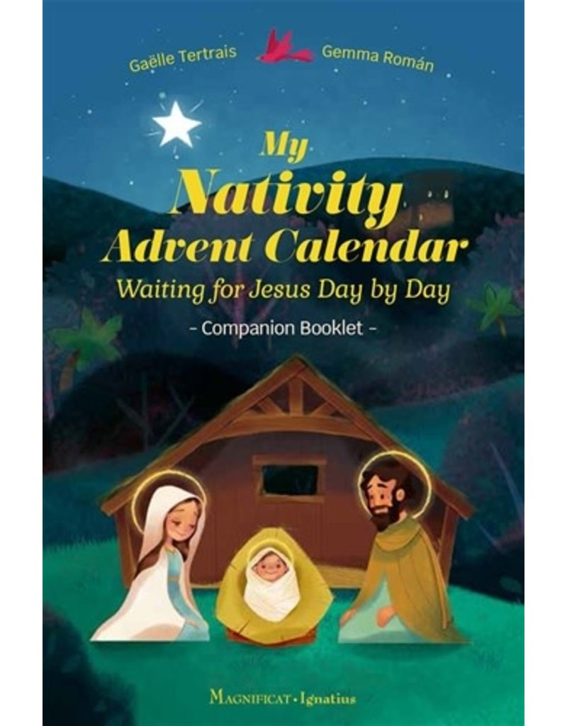 Ignatius Press My Nativity Advent Calendar Waiting for Jesus Day by Day