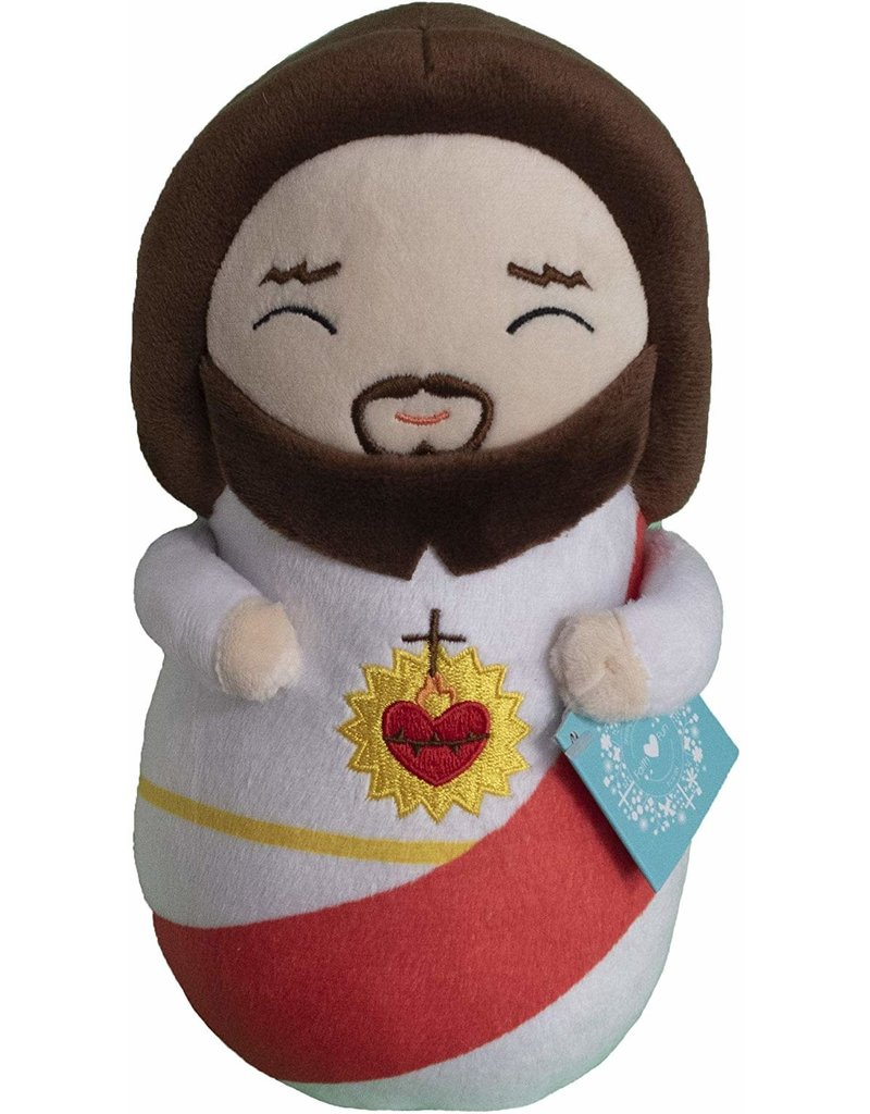 Shining Light Dolls Sacred Heart of Jesus Pillow Plush Doll