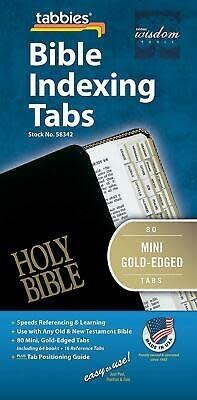 Tabbies Bible Tab-Cath: Classic Catholic Gold Bible Tabs (Catholic)