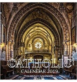 Createspace Independent Publishing Platform 2019 Catholic Calendar (16 Month)