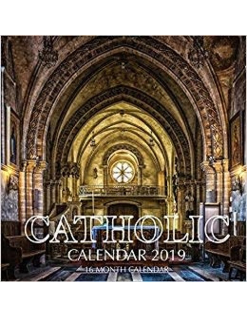 Createspace Independent Publishing Platform 2019 Catholic Calendar (16 Month)