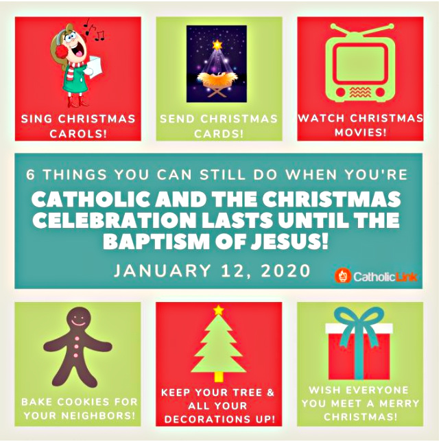 6 Fun Ways to Celebrate Christmas Until The Baptism of Jesus, In One Infographic