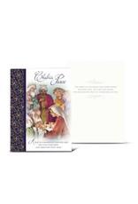 "WJ Hirten Box of 10 ""Christmas Peace"" Nativity Christmas Cards"