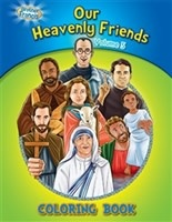 Brother Francis Coloring Book: Our Heavenly Friends vol.5