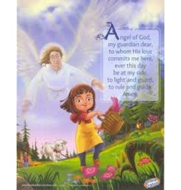 Brother Francis Brother Francis Mini Poster - Angel of God (Girl)