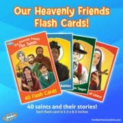 Brother Francis Our Heavenly Friends - Flash Cards