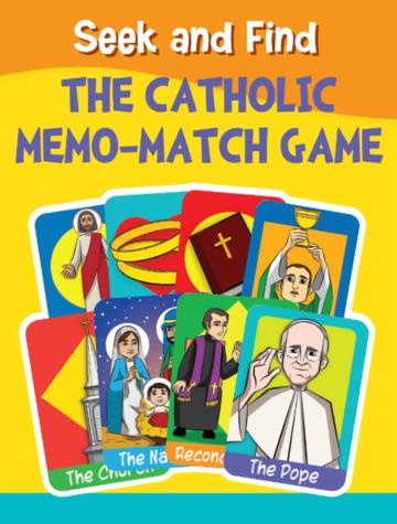 Brother Francis Seek and Find: The Catholic Memo-Match Game