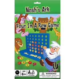 Cactus Game Design Inc. Game-Four In A Row: Noah's Ark (2 Players)