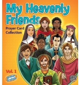 Brother Francis My Heavenly Friends Prayer Card Collection - Set of 70