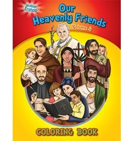 Brother Francis Coloring Book: Our Heavenly Friends vol.4