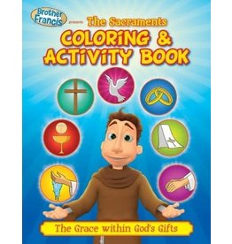 Brother Francis Brother Francis Coloring Book - Ep.12: The Sacraments