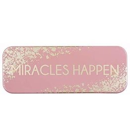 "Heartfelt ""Miracles Happen"" Enamel Plaque"