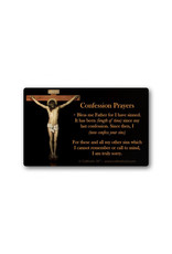Catholic ID Catholic Confession Prayers Card