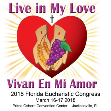 2018 Florida Eucharistic Congress Logo