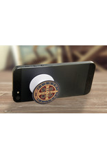 nelson line Benedictine Medal Pop-Up Phone Holder
