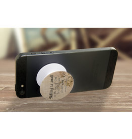 Nelson Fine Art Nothing is Small in the Eyes of God Pop-Up Phone Holder
