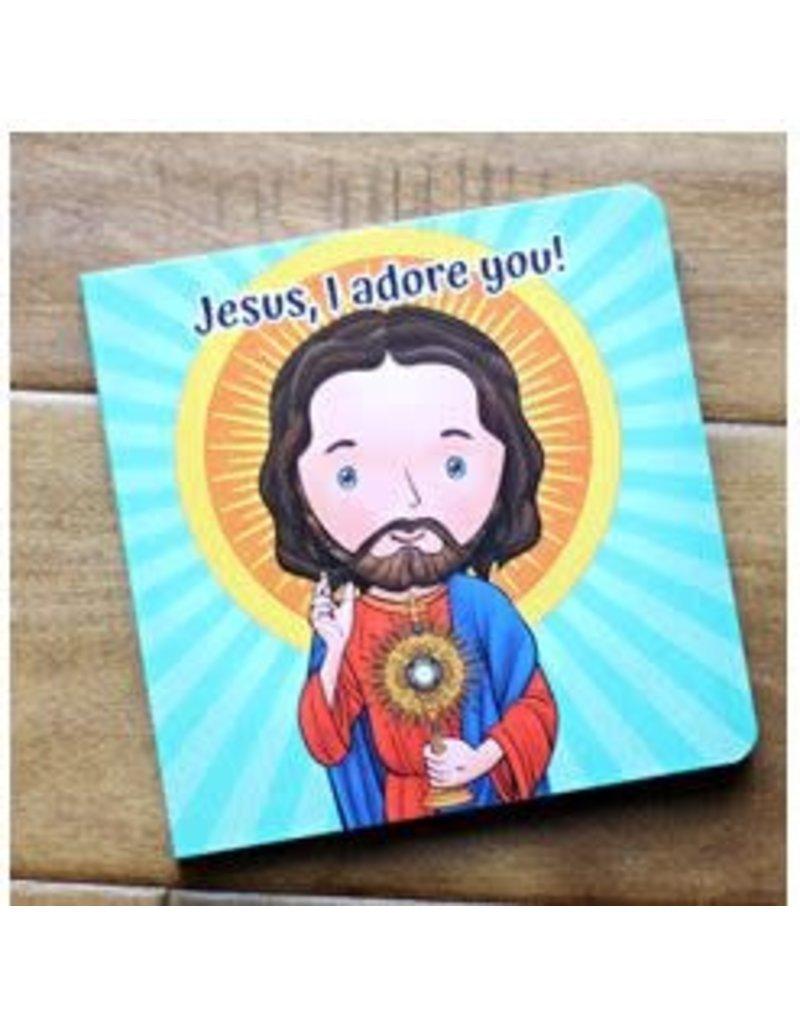 Catholic Sprouts Jesus, I Adore You! - Children's Adoration Book
