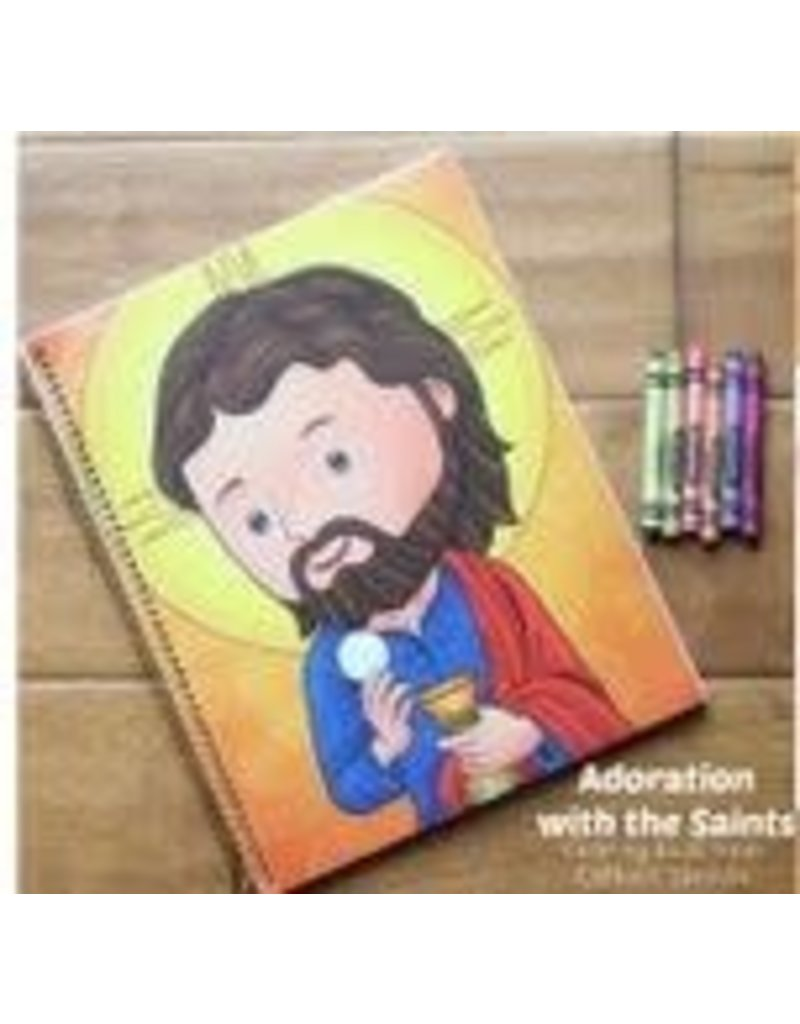 Catholic Sprouts Color As You Adore! Coloring Book for Children in Adoration