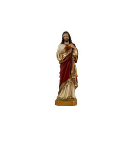 """Fiat Imports 12"""" Sacred Heart of Jesus Statue"""