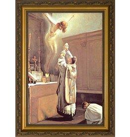 Nelson Fine Art The Holy Sacrifice of the Mass Framed Art