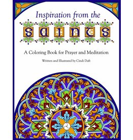 Pauline Books & Publishing Inspiration from the Saints: A Coloring Book for Prayer and Meditation