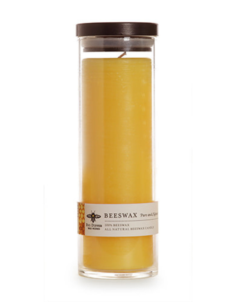 Big Dipper Wax Works Pure Beeswax Sanctuary Glass