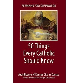 Emmaus Road Publishing Preparing for Confirmation: 50 Things Every Catholic Should Know