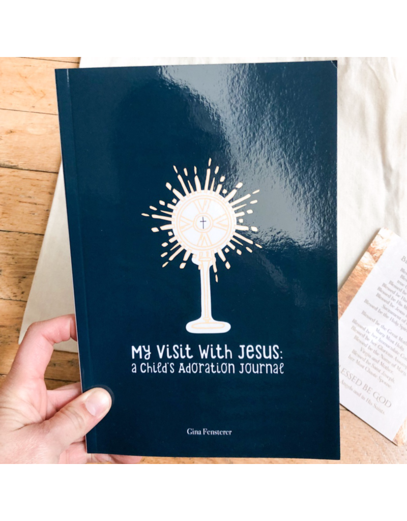 Catholic Sprouts Adoration Journal for Children: My Visit with Jesus