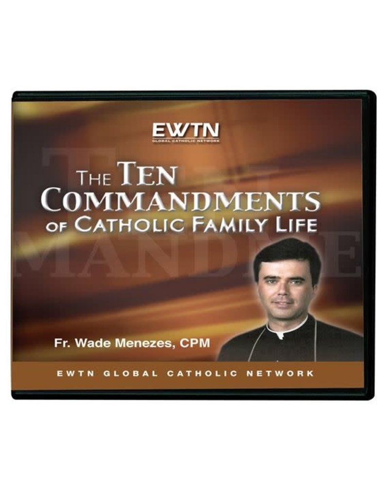 EWTN THE TEN COMMANDMENTS OF CATHOLIC FAMILY LIFE - DVD Fr. Wade Menezes