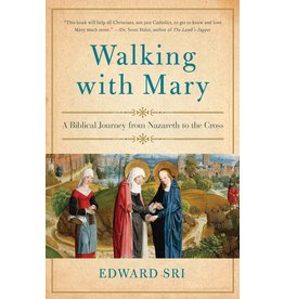 Image Catholic Books Walking with Mary: A Biblical Journey from Nazareth to the Cross