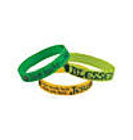 Oriental Trading Religious St. Patrick's Rubber Bracelets