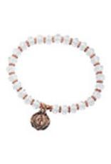 McVan Crystal Rose Gold Stretch Bracelet