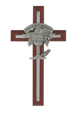 McVan Cherry Stained Communion Cross