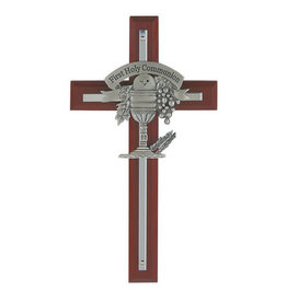 McVan Cherry Stained Communion Cross