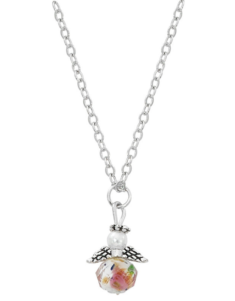 """McVan Flower Angel Necklace with 16"""" Chain"""