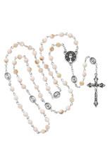 McVan Pink River Stone Communion Rosary