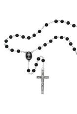 McVan 6MM Black Onyx First Communion Rosary