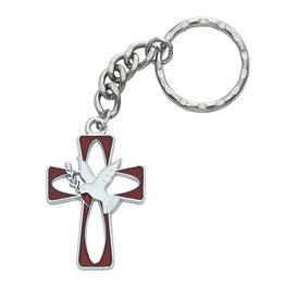 McVan Holy Spirit Cross Key Ring