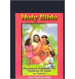 Catholic World Publishing NAB Children Of Color Bible-Black Imitation Leather