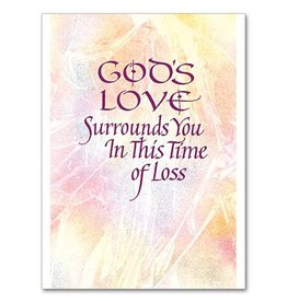 The Printery House God's Love Surrounds You Sympathy Card