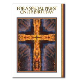 The Printery House For A Special Priest On His Birthday Greeting Card