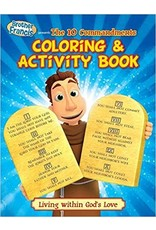 Brother Francis Coloring & Activity Book: Ep 16: The Ten Commandments ( Brother Francis )