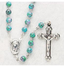 Devon Trading Company Imitation Cloisonne Rosary Green