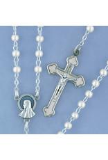 Devon Trading Company Pearl Rosary White