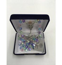 Devon Trading Company Pastel Crystal Rosary