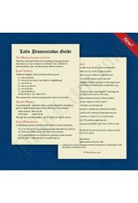 PrayLatin Latin Pronunciation Guide